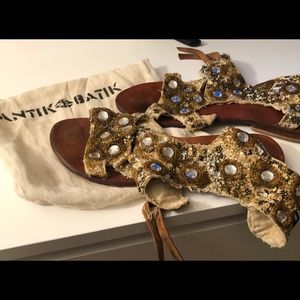 Antik Batik Shoes - Antik batik sandals